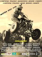 Copertina dell'Album: STAGIONE 2013 CAMPIONATO ITALIANO QUADCROSS E QUAD FMI Junior Cadetti_ Mattia Ioli Classe 1999_Campione Italiano